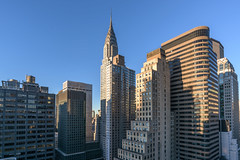 Manhattan Midtown East (ruimc77) Tags: new york city blue sky usa ny building skyline sunrise ed nikon manhattan east midtown nikkor afs f3545g 1835mm d810