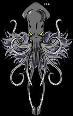 Kraken (Billy-Fish) Tags: art tattoo photographic adobe octopus illustrator vector kraken kracken billyfish