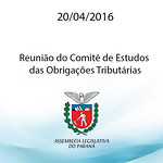 Reuni�o do Comit� de Estudos das Obriga��es Tribut�rias