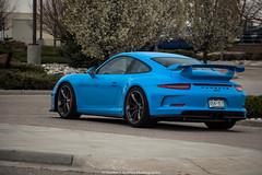 Porsche 911 GT3 (Hunter J. G. Frim Photography) Tags: blue black colorado 911 wing german porsche carbon supercar racer 991 gt3 pdk i6 rivierablue porsche911gt3 porsche911gt3991