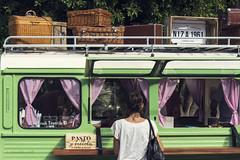 Vintage car (Kybenfocando) Tags: verde green colors car vintage colours colores caravan caravana