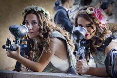 Bride and Groom Paintball - Gelin Damat Paintball 2015 (Remzi Ozcan) Tags: wedding groom bride couples paintball dn gelin ift damat trashthewedding ankaradnfotorafl ankaragelindamatfotorafl bridepaintball brideandgroompaintball