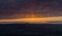 Fire in the sky (l4ts) Tags: sunrise landscape derbyshire peakdistrict goldenhour winhill darkpeak winnatspass hopevalley winhillpike britnatparks