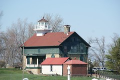 Old Michigan City, Indiana Lighthouse (1858) (SpeedyJR) Tags: lighthouse lighthouses indiana lakemichigan greatlakes michigancityindiana greatlakeslighthouses michigancityin michigancitylighthouse speedyjr 2016janicerodriguez