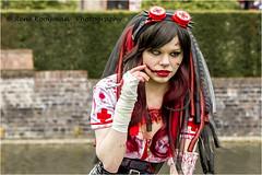 Elfia Haarzuilens 2016 (Rene kooijman photografie) Tags: girls castle colors festival canon costume cosplay dwarf zombie alien vampires schmink bloed haarzuilens elves kasteel laps steampunk kleuren trol tuinen heksen kasteelhaarzuilens vampiers elfia renekooijman kosteum