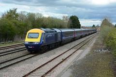 43002. Swindon. 25-04-2016 (*Steve King*) Tags: strange speed train high swindon unfinished intercity livery 43002
