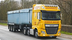 SW65 JBZ (panmanstan) Tags: truck wagon scotland transport lorry commercial vehicle bulk daf xf haulage stracathro