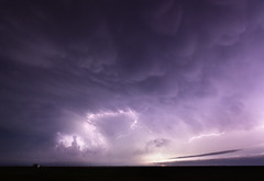 Purple Rain (Kelly DeLay) Tags: weather texas tribute lightning stormchasing supercell texasweather weatherphotography anvilcrawler