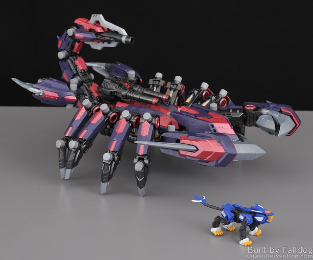 HMM Zoids - Death Stinger Review 6 by Judson Weinsheimer