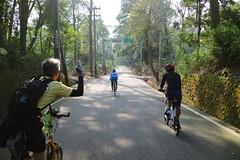 119 Betty  (nk@flickr) Tags: cycling friend taiwan betty bobby  miaoli    sanyi cheven canonefm22mmf2stm 20160109