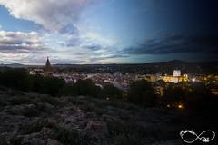 Paso del tiempo. (Pair Light) Tags: noche pueblo iglesia dia murcia pinos roca yecla
