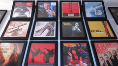 The updated Wall of Tarantino. (allremixes) Tags: fiction 2 brown dogs death 1 bill jackie kill vinyl reservoir proof pulp vol eight django soundtrack quentin basterds hateful tarantino unchained inglourious