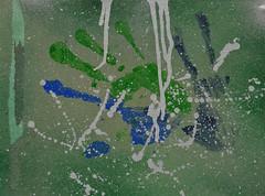 Trial Run (BKHagar *Kim*) Tags: blue green art silver painting artwork hands paint acrylic hand purple mixedmedia oil interpretive bkhagar