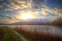 Winter Magic (blavandmaster) Tags: winter light sunset clouds canon germany landscape deutschland countryside december hiver weser nuages landschaft allemagne duitsland ostwestfalen 24105 portawestfalica eos6d