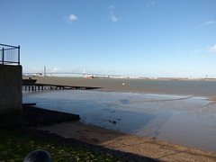 QEII Bridge from Swanscombe
