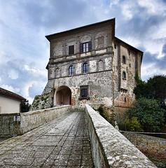 DSC_1168-1169 Capodimonte (VT), la Rocca (Giovanni Pilone) Tags: torre viterbo architettura rocca lazio capodimonte lagodibolsena