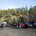 Encontro de Land Rovers em Squamish