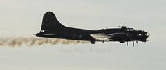 Sally B 3 (Rossco156433) Tags: scotland engine b17 boeing ayr bomber flyingfortress prestwick ayrshire sallyb usaaf prestwickairport southayrshire gbedf unitedstatesarmyairforces memphisbell scottishairshow prestwickinternational