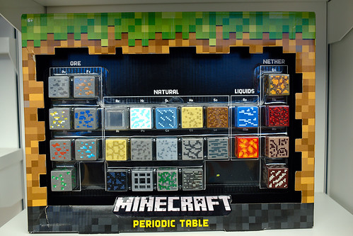 minecraft periodic table of the elements by Ian Muttoo, on Flickr