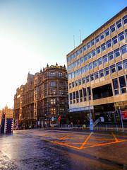 Jenners, Princes Street, Edinburgh (photphobia) Tags: road uk architecture buildings scotland edinburgh dusk princesstreet bluesky jenners oldwivestale edinburghinwinter