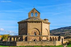 DSC0220 Santa Mara de Eunate, siglo XII, Navarra (ramonmunoz_arte) Tags: santa de arte xii mara navarra templarios siglo romnico eunate