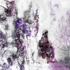 Winter Wondering (lensletter) Tags: winter white snow abstract cold ice window purple freezing textures freeze icy chill pinks wintry theawardtree lensletter