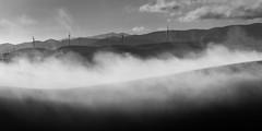 windmill-4 (Xiaoming Chen) Tags: california fog landscape livermore
