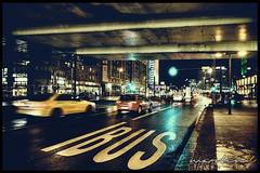 Traffic (Krueger_Martin) Tags: auto street city light urban bus berlin cars car rain night speed reflections dark lights licht reflex colorful traffic wideangle stadt alexanderplatz 24mm autos verkehr spiegelung farbig hdr regen bunt dunkel weitwinkel geschwindigkeit photomatix strase festbrennweite primelense canoneos5dmarkii canonef24mmf14lii canoneos5dmark2