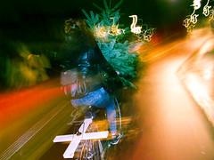 | Pilfer | (theafroviking) Tags: xmas urban color bike bicycle pine digital speed copenhagen reindeer denmark streetphotography christmastree latenight theif gr redsquare theft nrrebro danmark ricoh ricohgr kbenhavn pilfer rangifertarandus ricohgrdii superkilen