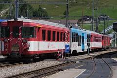 Train in Andermatt (n95lover) Tags: fo mgb andermatt oberalp furka matterhorngotthardbahn