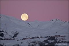 La Lune sur La Toussuire