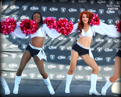 2015 Oakland Raiderettes Monique & Wendy @ Raiderville (billypoonphotos) Tags: pink ladies girls light black silver oakland ginger photo dance football team nikon women pretty breast cheerleaders nfl go nation cancer picture dancer redhead coliseum bud females cheerleading squad wendy fabulous awareness broncos monique raiders raider 2015 raiderette raiderettes raidernation oco bcam d5200 raiderville billypoon billypoonphotos
