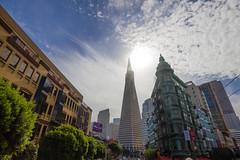 Transamerica Pyramid, San Francisco (Stafford Student) Tags: sanfrancisco usa pyramid urlaub transamerica reise