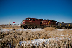 Dirty Beaver (awstott) Tags: train locomotive cp ge cpr generalelectric canadianpacificrailway ac44cw 8550
