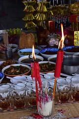Chinese New Year - Bangkok (jcbkk1956) Tags: street food thailand nikon candles bangkok chinese newyear offerings thonglo worldtrekker d3300