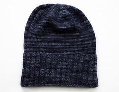 Sockhead Hat - folded (chavala) Tags: knitting hats sundara sockyarn