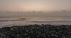 Sunrise_bayofbengal (Essence of Beauty (By Yogesh Gupta)) Tags: sea india beach nature sunrise dawn pondicherry incredibleindia puducherry shadesofsea beyofbengal essenceofbeauty eastcoastofindia