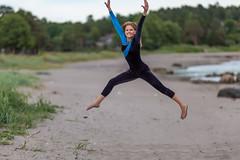 Springy (Normann Photography) Tags: summer beautiful flying photoshoot gymnast tnsberg elastic springy vestfold gracefully buoyant floatingintheair outdoorphotoshoot