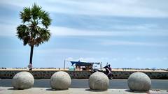 Triplicane beach, Chennai (Ivon Murugesan) Tags: beach walkway chennai pathway triplicane tamilnaadu tiruvalikeni mychennai chennsibeach triplicanebeach