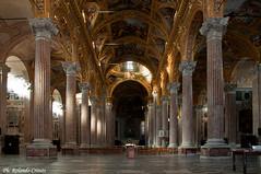 Basilica dell' Annunziata (Rolando CRINITI) Tags: basilica genova architettura navata annunziata basilicadellannunziata basilicadellasantissimaannunziatadelvastato
