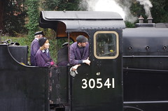 IMGP8399 (Steve Guess) Tags: uk england train engine railway loco hampshire steam gb locomotive bluebell alton 060 ropley alresford hants fourmarks medstead qclass 30541