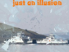 Illusion ((fiona) thank you for your visit) Tags: sea ferry scotland clyde nikon illusion millport largs