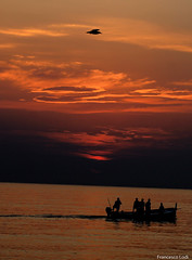 Alba a schiavonea!!!  #alba #Calabria #pesca #mare (francesco.lodi) Tags: mare alba pesca calabria