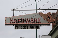 Pollock's Hardware (The Mick Loyd Project) Tags: sign hardwarestore neon pollockshardware february222016mickvariousbidgchurchetv