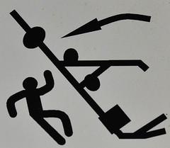 Falling Contraption Danger (pokoroto) Tags: winter canada danger falling alberta figure contraption stick february lethbridge 2016 2    kisaragi    wearmoreclothesmonth  28