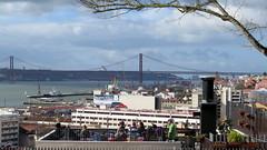 078-February'16 (Silvia Inacio) Tags: bridge portugal rio river lisboa lisbon ponte esplanade tejo esplanada tagus tagusriver ponte25abril riotejo