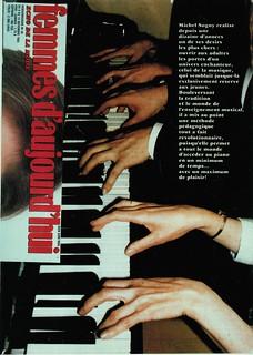 MICHEL SOGNY PRESSE FEMMES D'AUJOURD'HUI 8 NOVEMBRE 1983