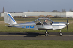 13/03/16 - EV-97 Teameurostar UK - G-CDTU (gbadger1) Tags: uk march ev 97 airfield matters 2016 wellesbourne ev97 mountford egbw teameurostar gcdtu