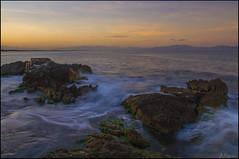 Port d'en Peris (antoniocamero21) Tags: color port marina atardecer foto sony girona cielo catalunya rocas lescala