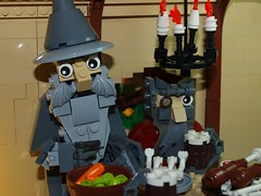 An Unexpected Party (emperor.willmot) Tags: party lego an gandalf hobbit unexpected tolkien dwarves macrofigs